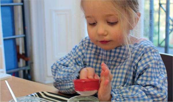 Montessori child